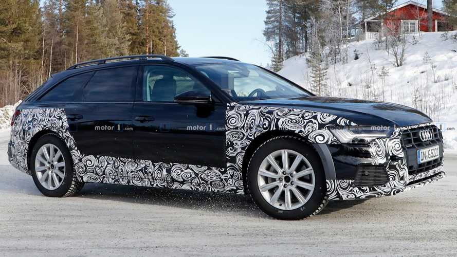 Yeni Audi A6 Allroad prototipi üretime hazır görünüyor