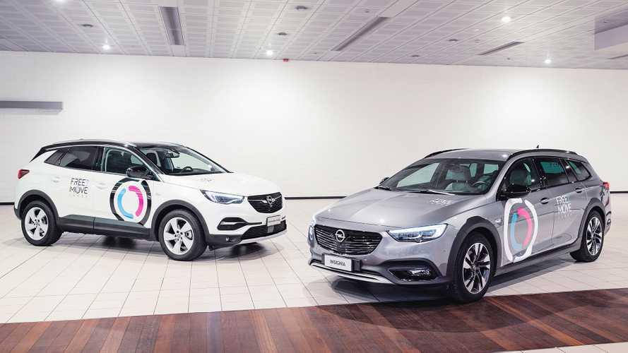 Opel, arriva il noleggio a lungo termine