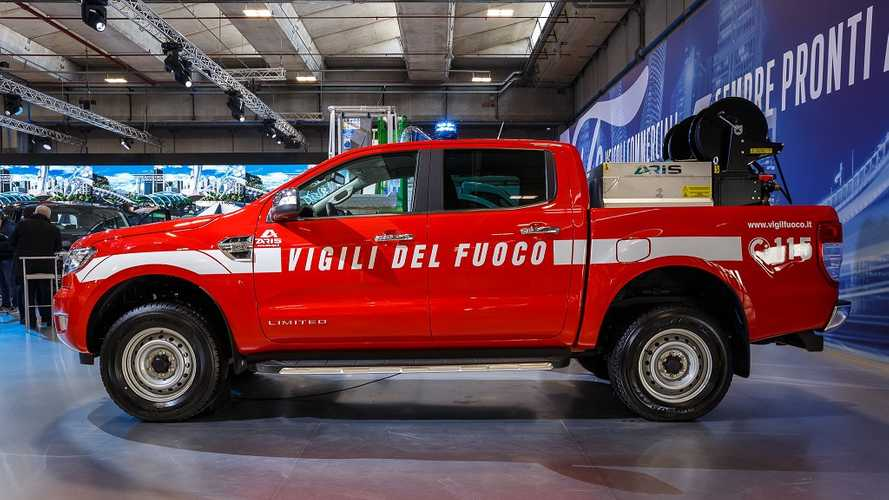 Ford Ranger, 100 pick-up per i pompieri