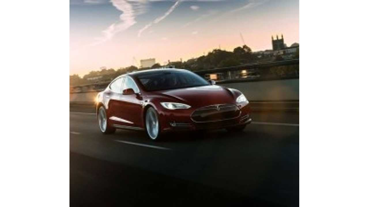 Road and Track Lists Tesla Model S P85 in