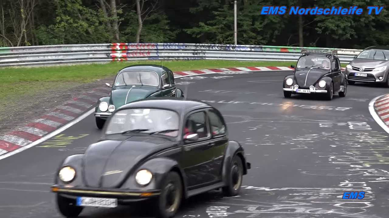 VW Beetle At Nurburgring