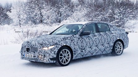 2021 Mercedes-Benz C-Class Spied In A Winter Wonderland