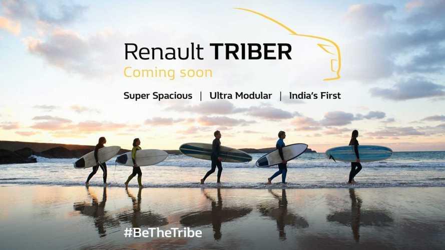 Renault Triber, minivan do Kwid, será lançada em julho