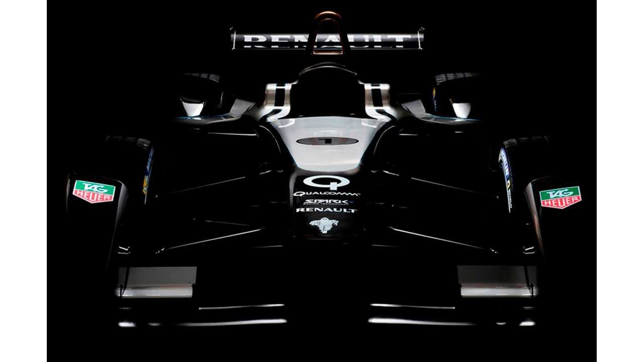 Formula E Spark-Renault SRT Electric Racer Gets Revealed in Frankfurt