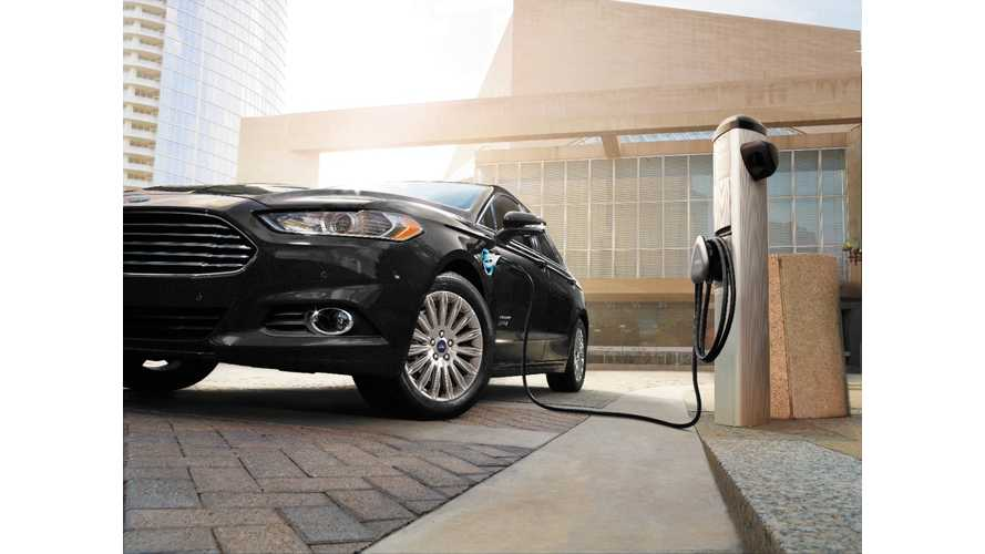 Ford to Charge Up Its Workplaces in US and Canada With Install of 200 Free-To-Use Charging Stations