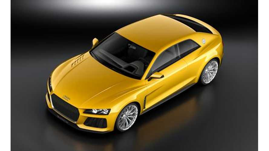 Audi Sport Quattro Concept Plug-In Hybrid Gets Revealed