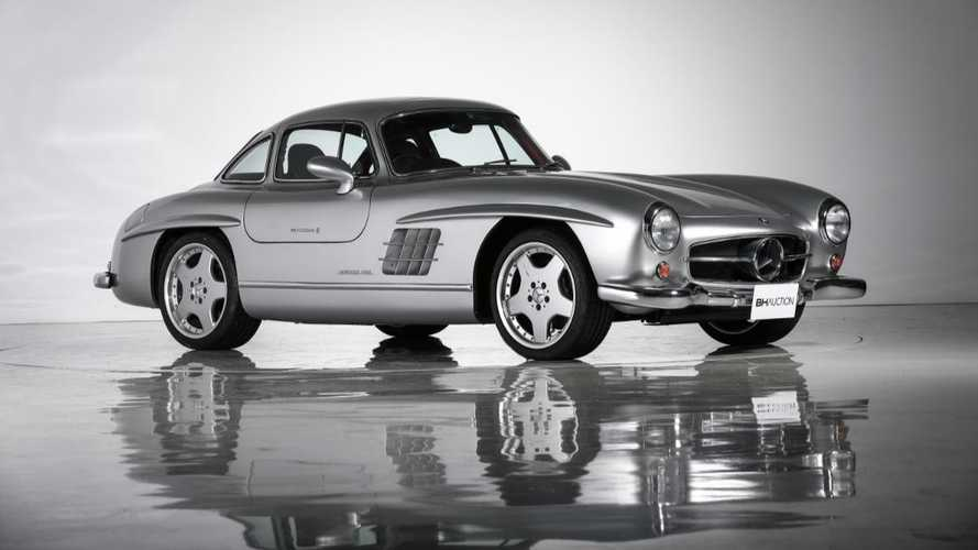 This Modified Mercedes Gullwing Is A Crime Against Classic Cars