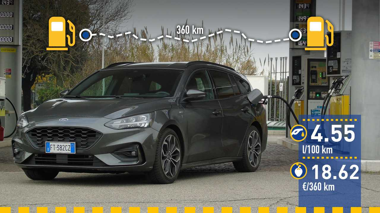 Ford Focus SportBreak 2019: prueba de consumo
