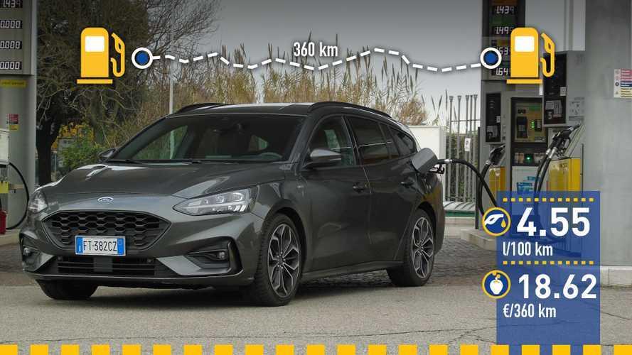 Ford Focus SportBreak 2019: prueba de consumo