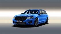BMW 7 Series Concept Renderings By Aksyonov Nikita
