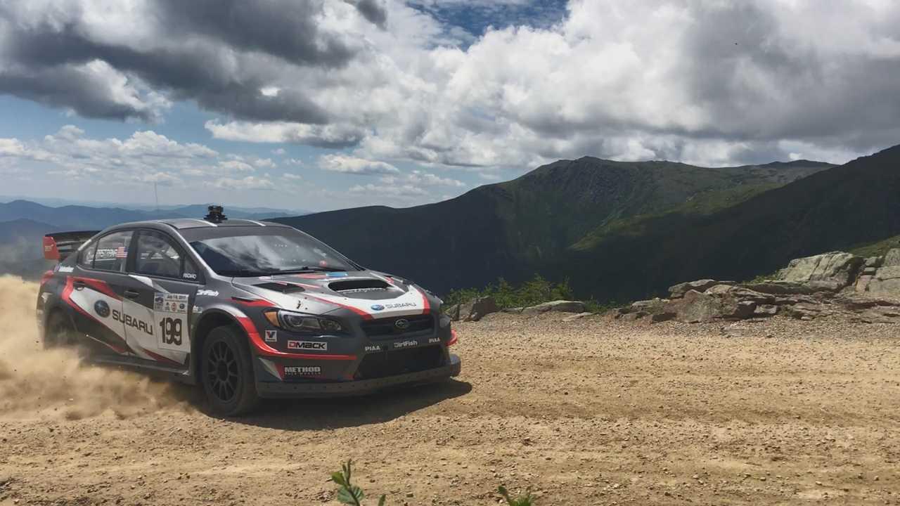 Travis Pastrana Racing Up Mount Washington