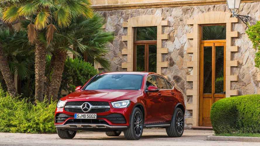 Már rendelhető Európában a Mercedes-Benz GLC és GLC Coupé