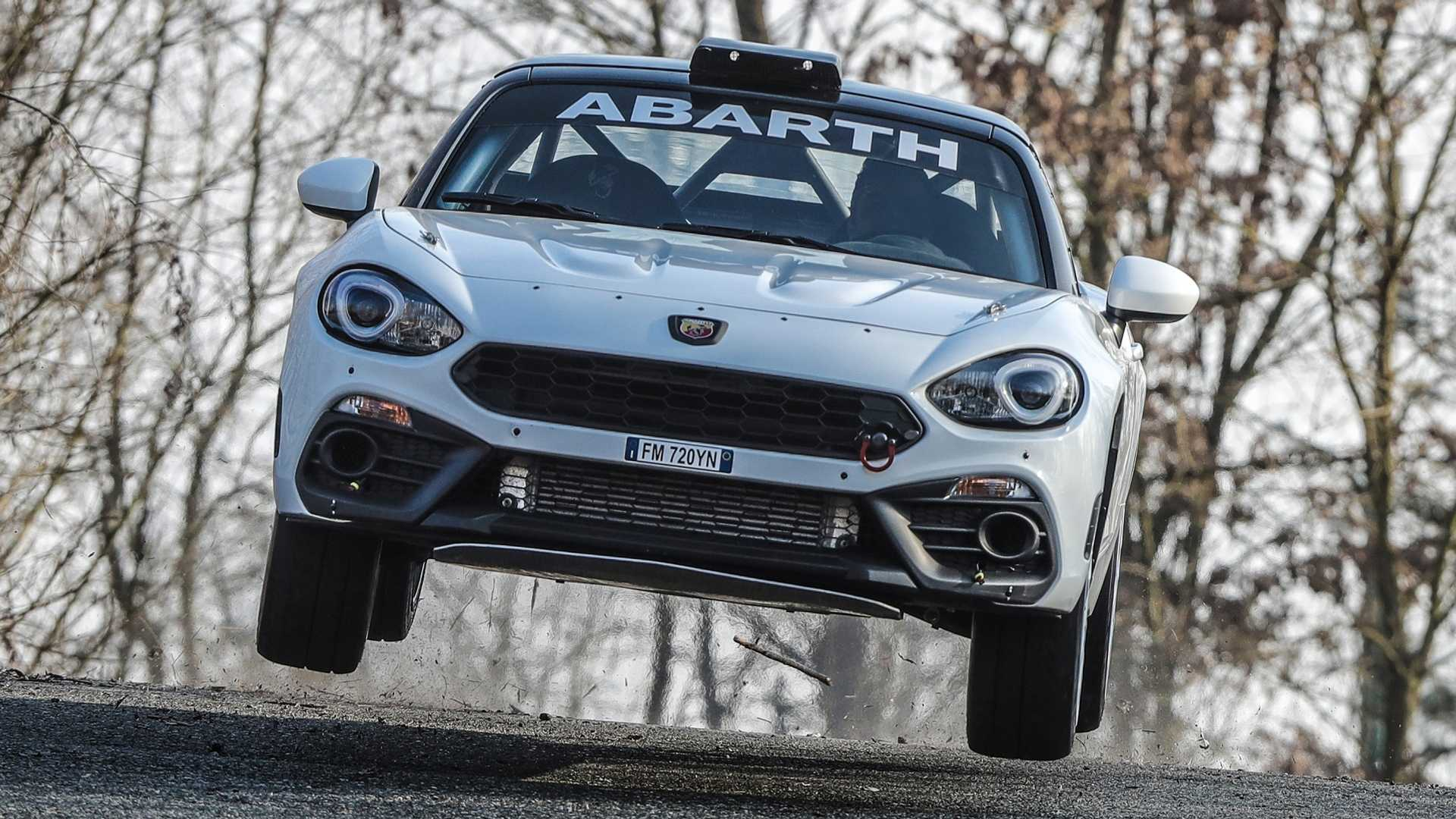 Abarth Race Spec 124 Rally Gets Gravel Kit For 2019