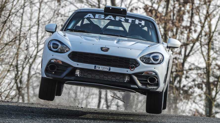 Abarth race-spec 124 Rally gets gravel kit for 2019
