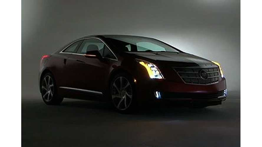 Video: Cadillac ELR To Become World's First Plug-In With Full LED Exterior Lighting