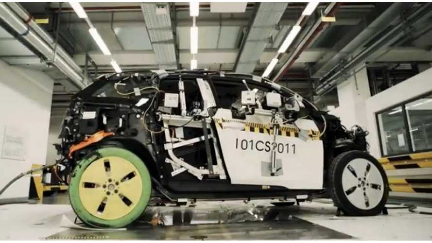 Video: BMW i3 Safe Zero Emissions - BMW Shows It, Then Destroys It
