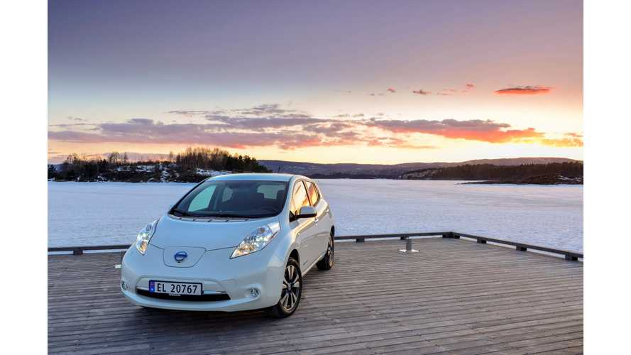 Nissan LEAF Grabs 95 Percent of Total Electric Vehicles Sales in Norway in May