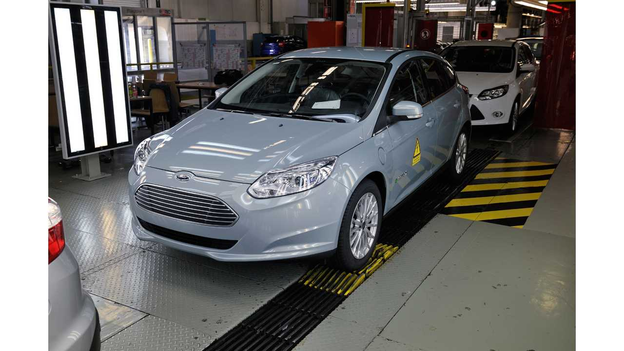 Ford Focus Electric Priced From €39,990 ($52,079 US) in Germany