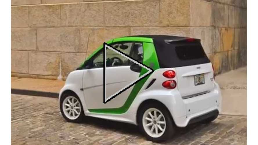 Video: First Drive of 2013 Smart Fortwo Electric Drive