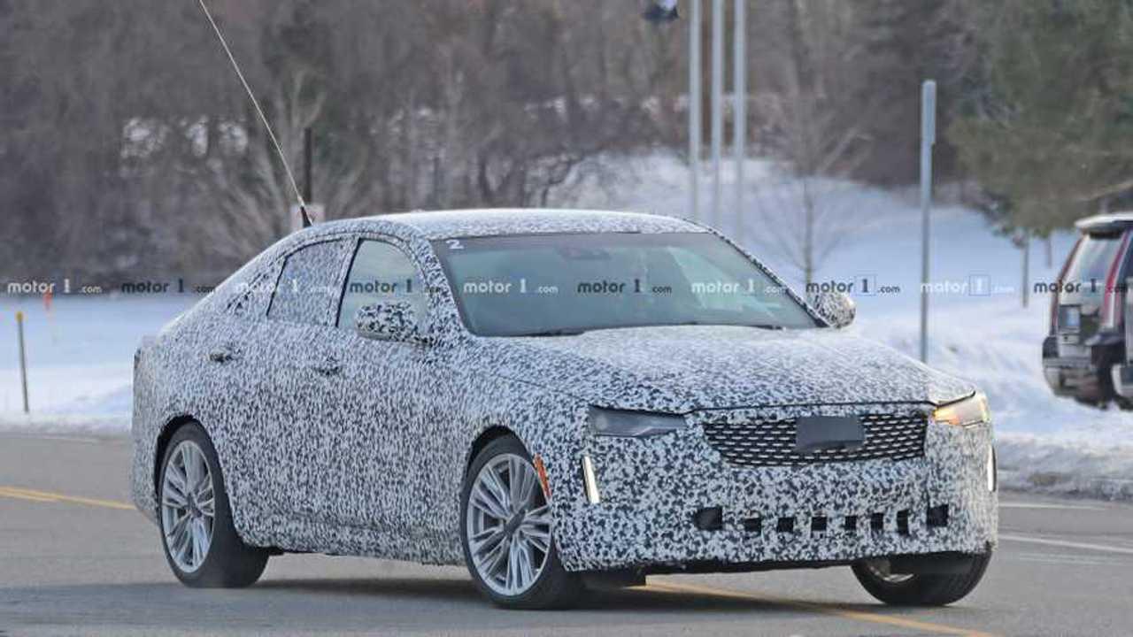 2020 Cadillac CT4 Spy Photo