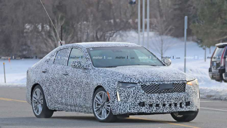 2020 Cadillac CT4 Sedan Spied Testing In Several Trim Levels