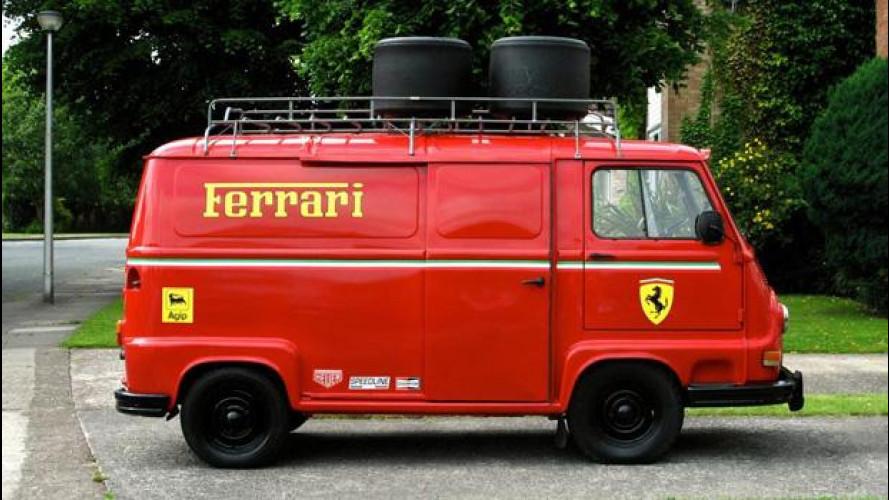 Rush, dal film va all'asta una Renault Estafette con livrea Ferrari