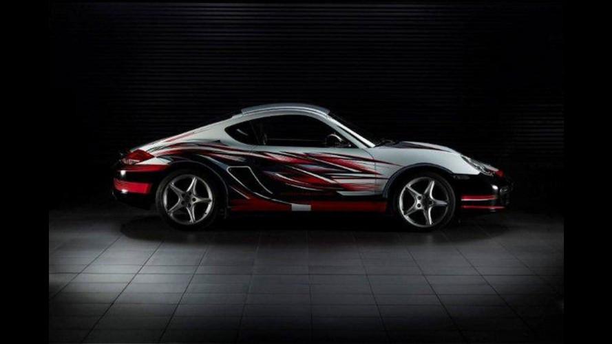 4 Cayman per il concorso di design Radically Porsche