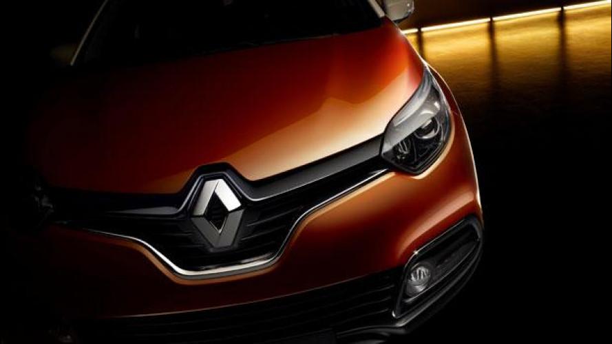 Renault Captur, il primo teaser