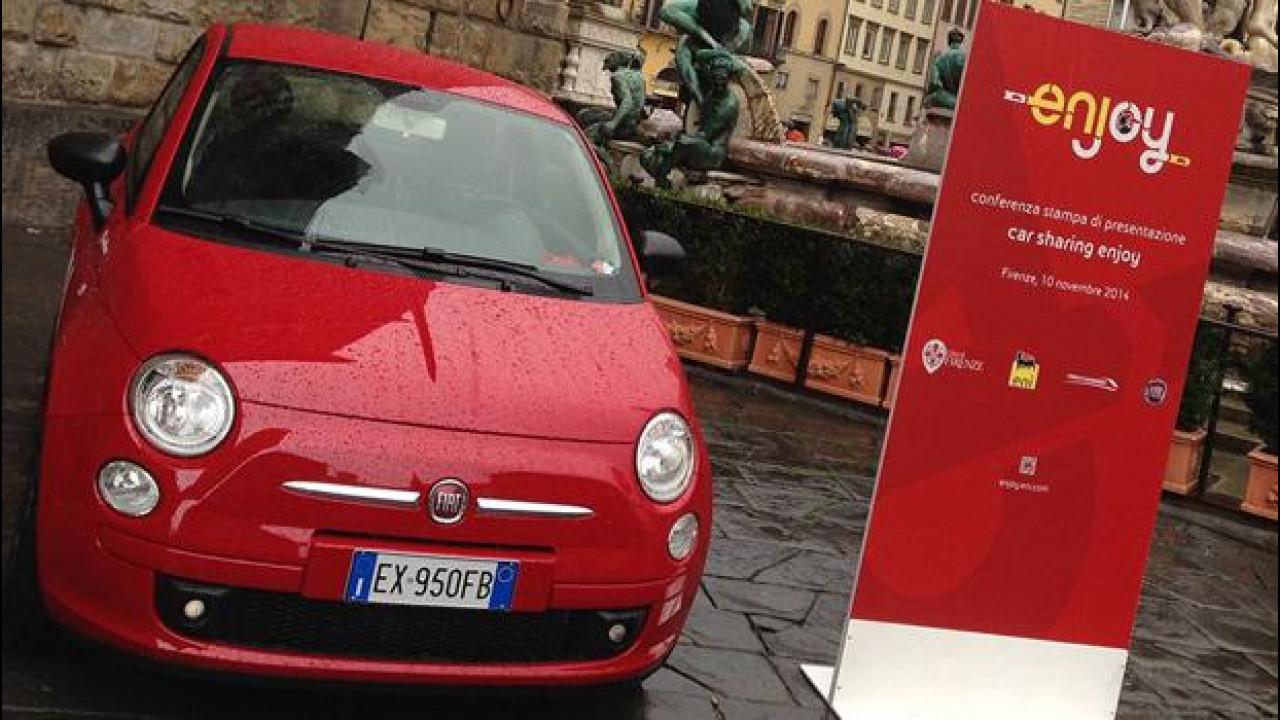 [Copertina] - Car sharing, Enjoy è approdato a Firenze