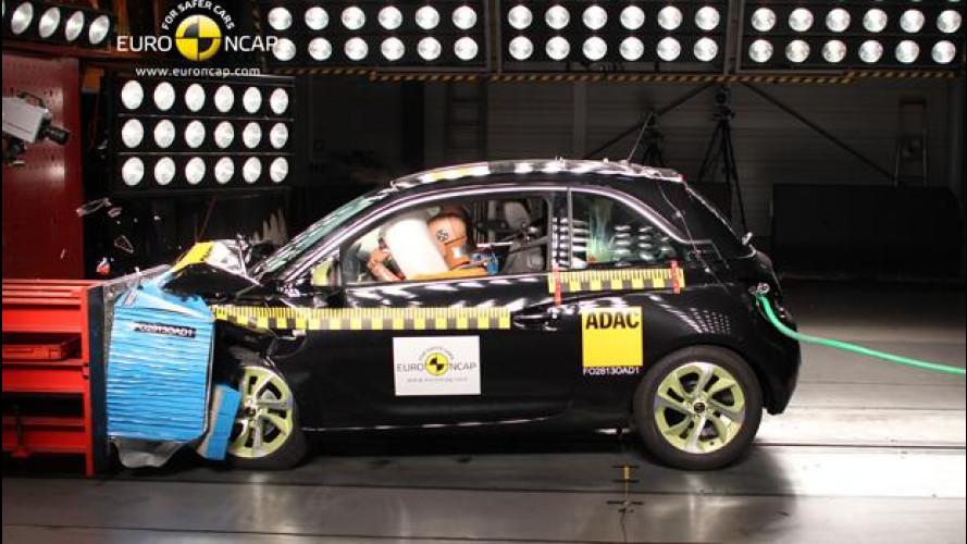 [Copertina] - Euro NCAP: pioggia di stelle per le ultime auto testate