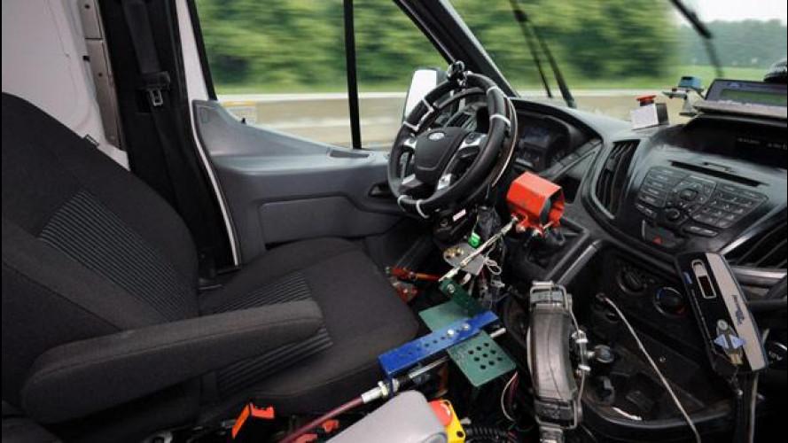 Ford utilizza robot per testare l'affidabilità dei veicoli