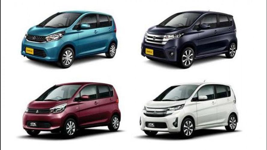 [Copertina] - Nissan e Mitsubishi, le foto delle minicar per il Giappone