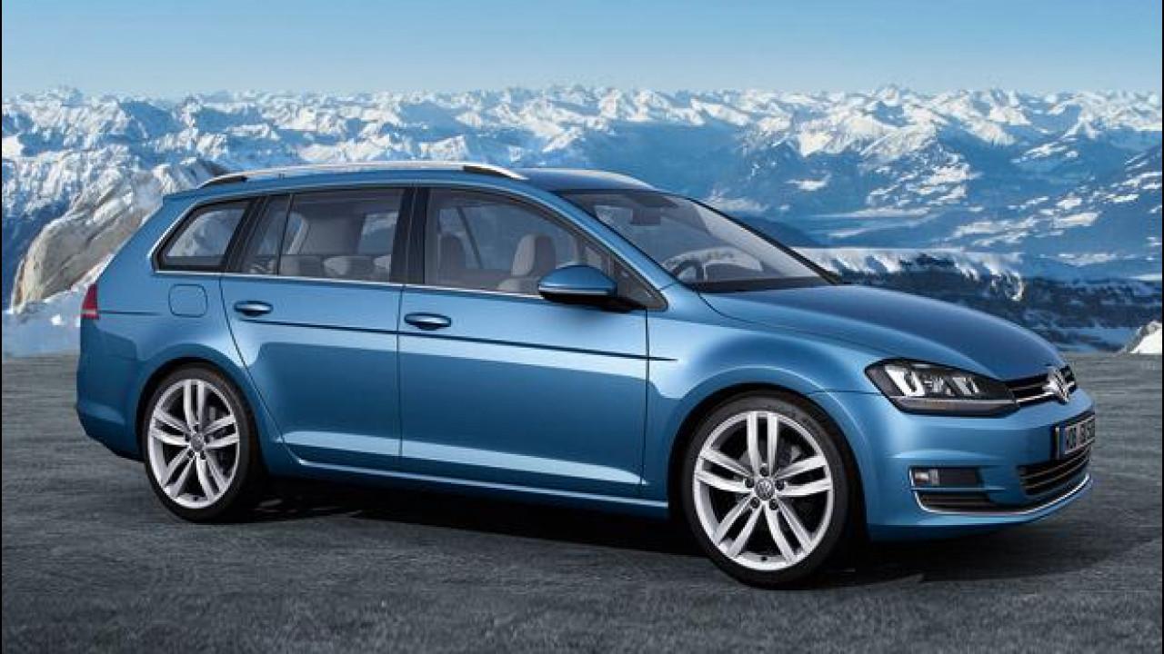 [Copertina] - Nuova Volkswagen Golf, anche Variant