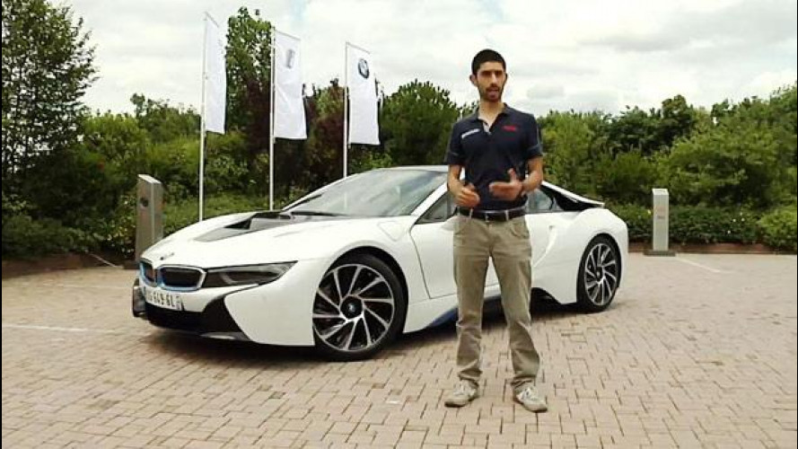 BMW i8, l'ibrida bella da guidare [VIDEO]