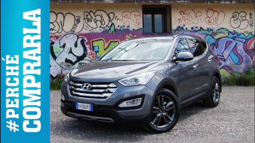 Hyundai Santa Fe, perché comprarla... e perché no [VIDEO]