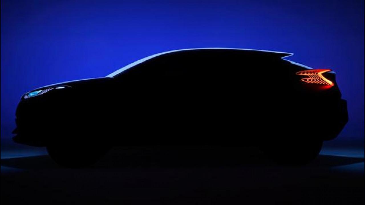 [Copertina] - Toyota C-HR concept, prima foto ufficiale