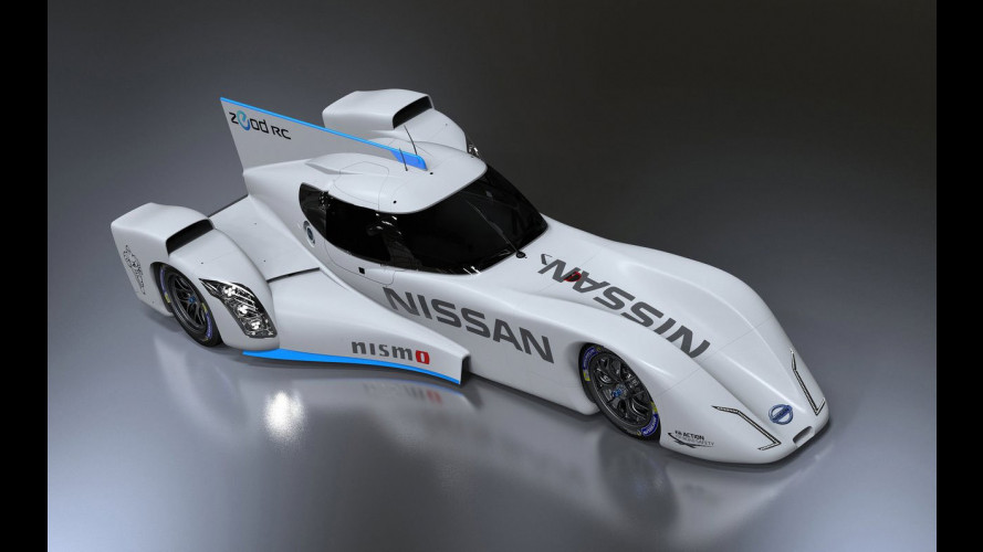 Nissan ZEOD RC, al debutto in Giappone