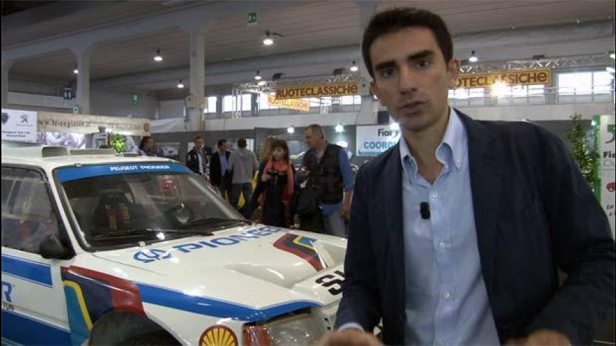 Peugeot ad Auto e Moto d'Epoca con il