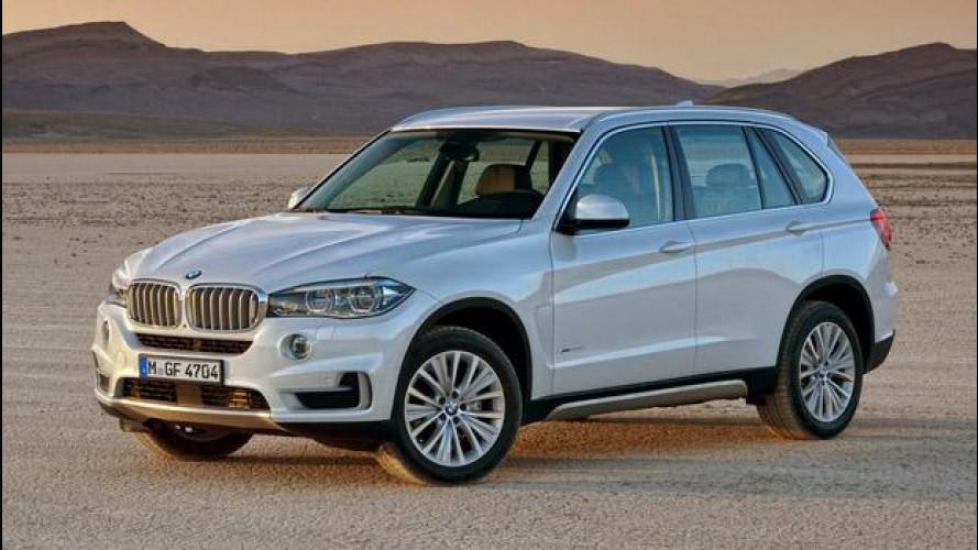 Nuova BMW X5, i prezzi