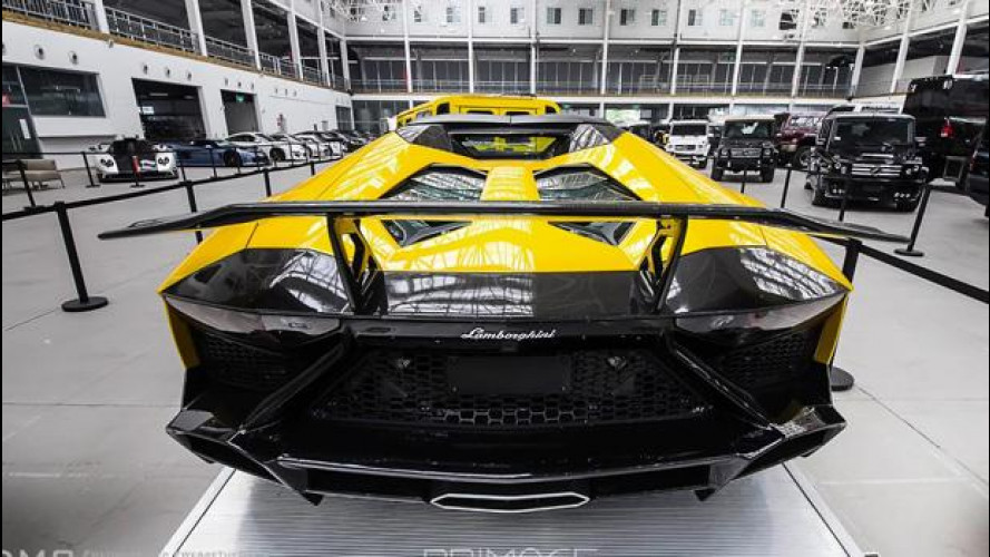 Lamborghini Aventador LP720 Roadster, troppo esagerata