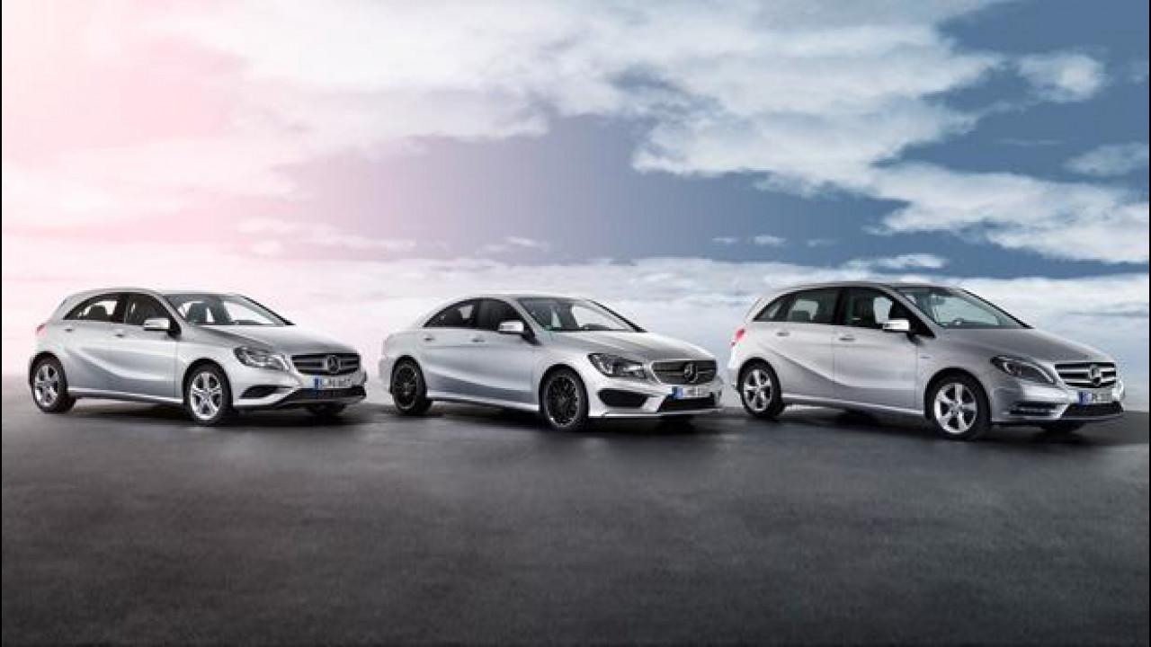 [Copertina] - Mercedes Classe A, Classe B e CLA: 6 nuovi modelli in arrivo