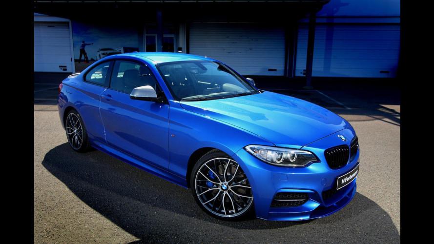BMW M235i Track Edition, serie limitata dal look aggressivo