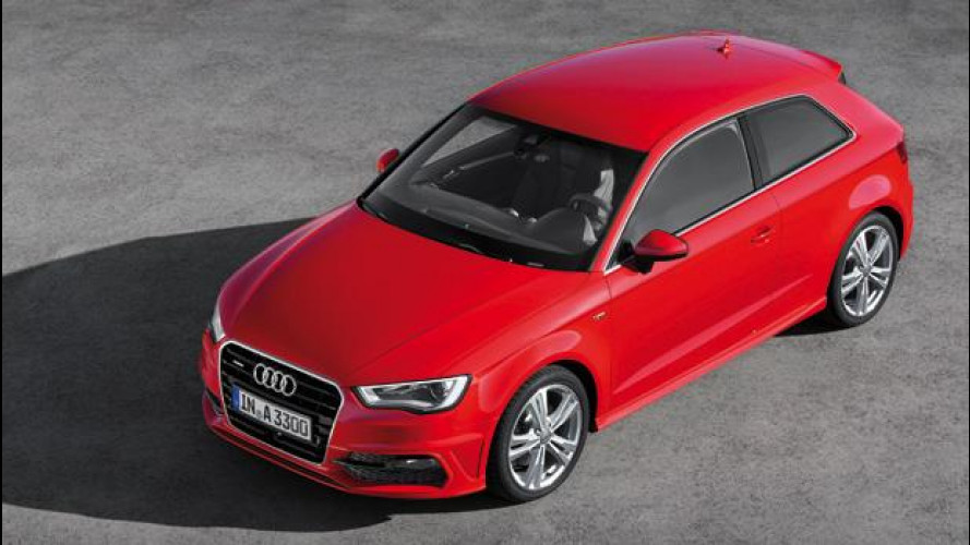 Nuova Audi A3: prezzi da 23.050 euro