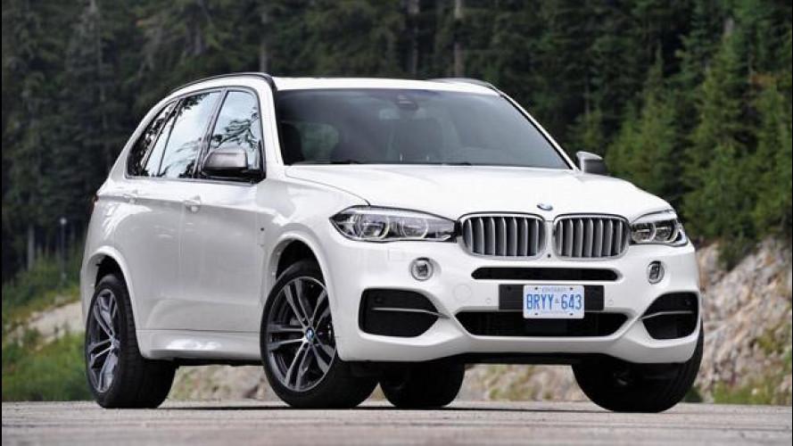 Nuova BMW X5 M50d