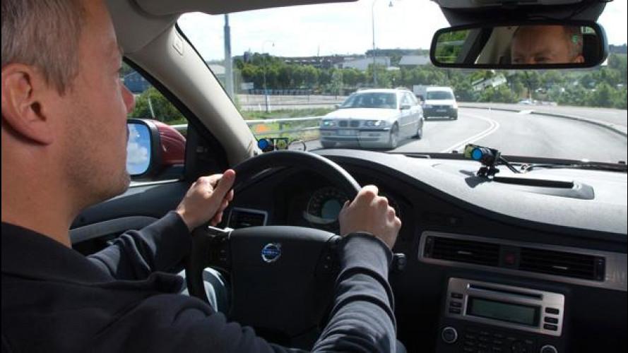 Le tecnologie Volvo riducono il rischio di tamponamento in autostrada del 42%