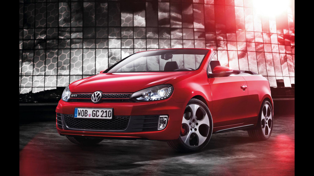 Nuova Volkswagen Golf GTI Cabriolet