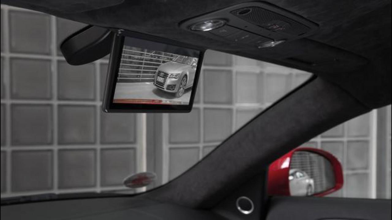 [Copertina] - L'Audi R8 e-tron avrà lo specchietto retrovisore digitale