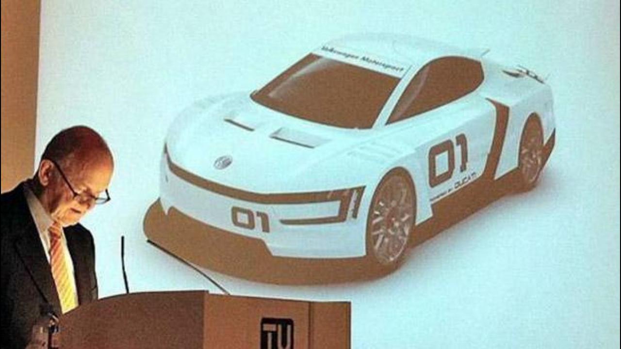 [Copertina] - Volkswagen XL Sport, concept con motore Ducati