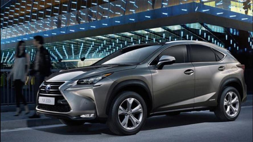 Lexus NX, il SUV rilassante perché ibrido