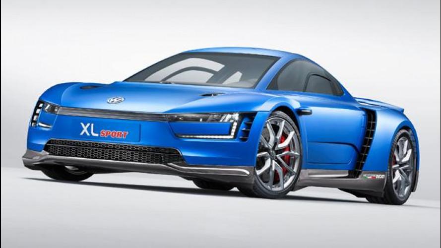 Volkswagen XL Sport, cuore Ducati